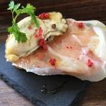 チョップ ストック - 播磨牡蠣と生ハム