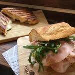 チョップ ストック - サンドイッチとホットサンド