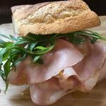 チョップ ストック - サンドイッチのアップ