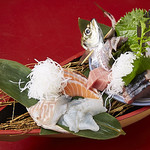 海鮮酒場 魚波 - お刺身盛
