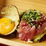 海鮮酒場 魚波 - マグロとアボガトユッケ