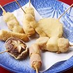海鮮酒場 魚波 - 串揚げ