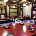 海鮮酒場 魚波 - 座敷