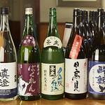 海鮮酒場 魚波 - 日本酒集合