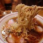 西尾中華そば - 麺アップ
