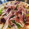 Bosco - 料理写真:生ハムとサラダのピザ