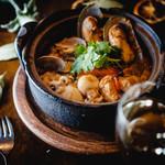 海の幸の雑炊