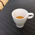 オキ オリーブガーデンカフェ - オリーブ茶