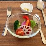 オキ オリーブガーデンカフェ - 野菜も食べ野菜
