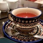 108067839 - コーヒーばかり飲んでいたので最後は紅茶で♡