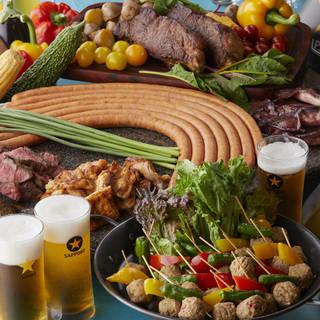 季節感あふれる料理を、心ゆくまでお愉しみください。