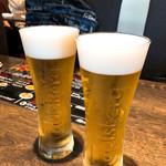 チキンプレイス ロティサリーズ - 生ビール