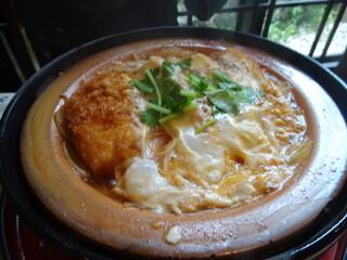 田むら銀かつ亭 本店 - 豆腐かつ煮