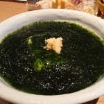 秋葉原魚金 - 青のり豆腐