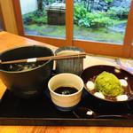 108077751 - 金沢の葛きりの黒蜜はただ甘いだけではなく、お醤油が隠し味になっています。絶妙な甘さ(๑>◡<๑)♡
