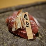 居酒屋 鮪氏  - マグロ5種盛り合わせ(頬肉)