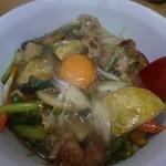 順園 - スタミナ丼野菜たっぷり840円