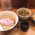 108081180 - つけ麺と炊き込みご飯