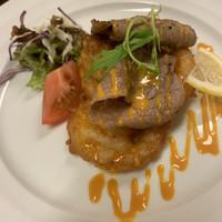 味の城-この肉、めっちゃうまし❗️