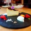 ル・カフェ・デュ・ボヌール - 料理写真:バスクチーズケーキ