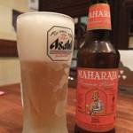 パンジャビ ダバ - ドリンク写真:プラス\400でドリンクはビールに変更可(写真はマハラジャビール)