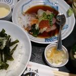 大衆割烹 まさ味 - 海鮮丼860円