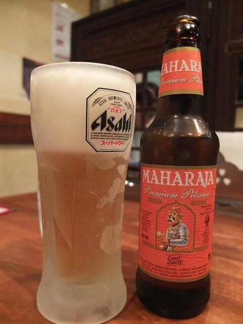 パンジャビ ダバ - プラス\400でドリンクはビールに変更可(写真はマハラジャビール)