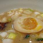 烈志笑魚油 麺香房 三く - 半玉