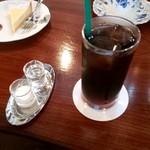 カフェ パーシモン - アイスコーヒー