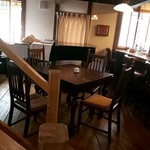 カフェ パーシモン - 店内(ピアノ)