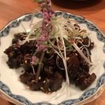 中華バール金柑 - 牛ツラミのあて