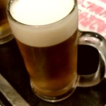 北海亭 - ドリンク写真:【2019.5.20(月)】1杯5円の生ビール