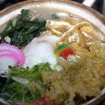 一休亭 - 鍋焼きうどん