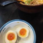ちゃんぽん 大龍軒 - 半熟味付け玉子103円