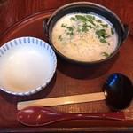 お通 - クリームチーズ雑炊