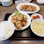 108102245 - 餃子・唐揚セット2019.05.16