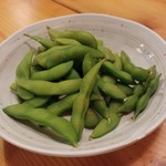 ふくろう亭 - 枝豆350円
