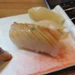 寿楽 - カンパチの腹身