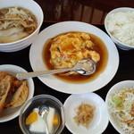 中国料理 珍味軒 - かに玉子定食@700円