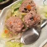 肴菜家 おがわ - 肉団子 1000円