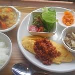 ハーティネス上町カフェ - 料理写真:週替りランチ