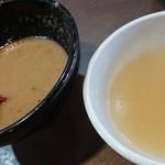 麺屋 とり仁 - スープ割♪