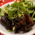 台湾麺線 - パクチーきくらげ2019.5.18