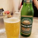 台湾麺線 - 台湾ビール2019.5.18