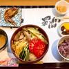 麺喰 - 料理写真:サラダうどんセット