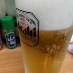 はまもと - 生ビール 400円 1杯目