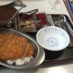 井上食堂 - カツ+カレー
