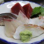 まるしん - 刺身5種盛