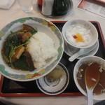 翠凰楼 - 豚角煮丼¥1,030