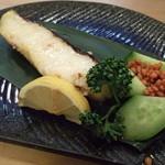 丸まん寿司 - 銀むつの西京焼き 780円